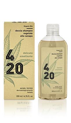 Doccia Shampoo 420 Vegetale alla Canapa Bio
