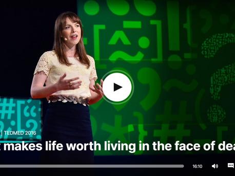 מה הופך חיים למשמעותיים אל מול המוות - הרצאת TED
