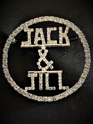 Jack&Jill Rhinestone Pin