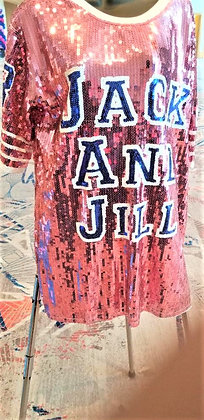 Jack and Jill Sequin Jersey Top