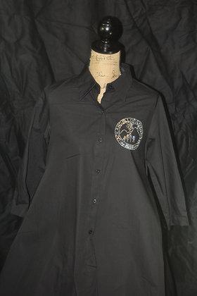 High Low Cotton Ladies Shirt