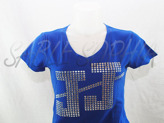 JJ Bling Short Sleeve Ladies T-Shirt