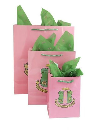 Gift Bag Set with Tissue Paper