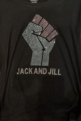 BLM/Jack&Jill Fleece Crewneck Sweatshirt