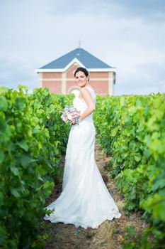 Mariage au coeur des vignes