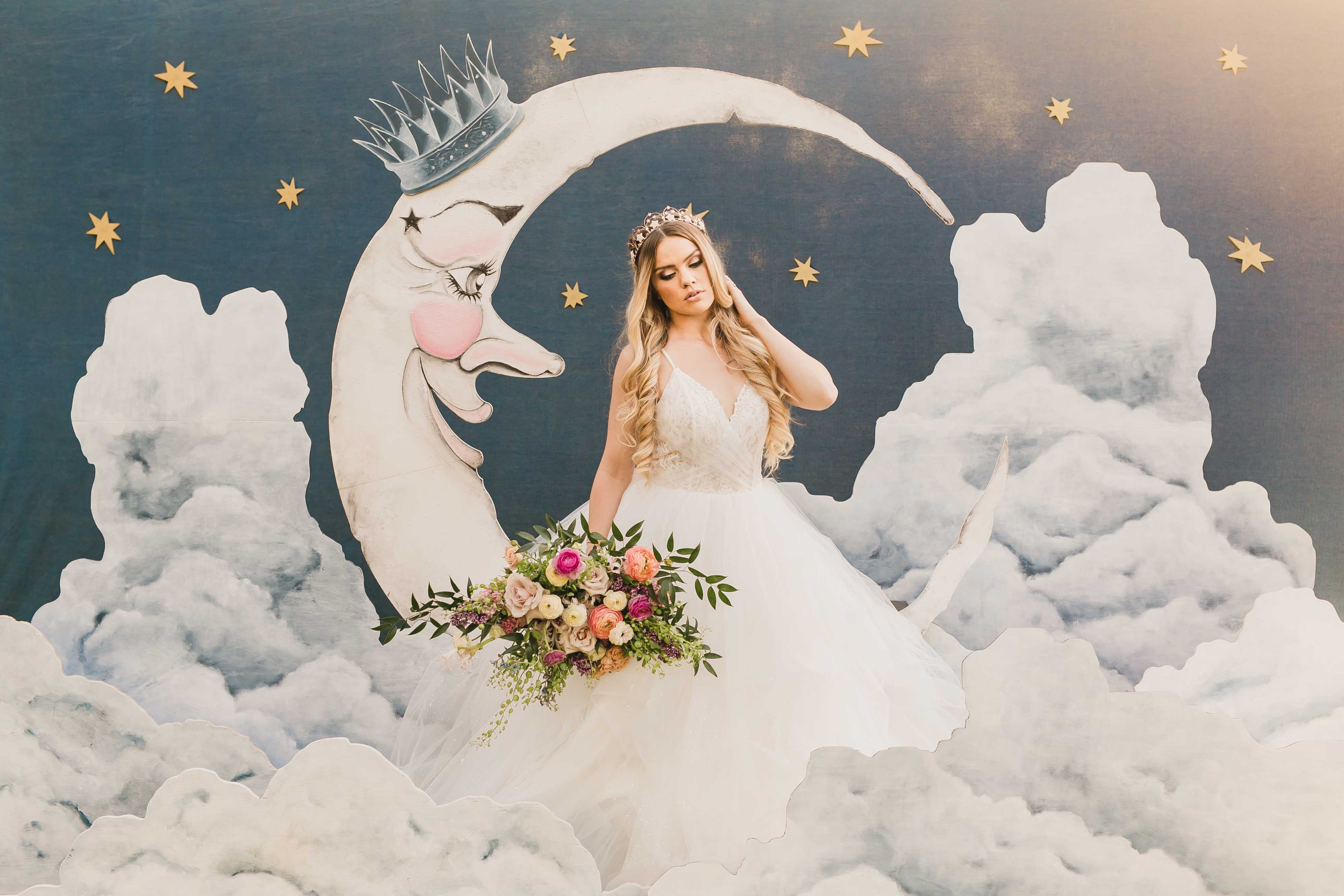 Rose Gold Unicorn Wedding Inspo with