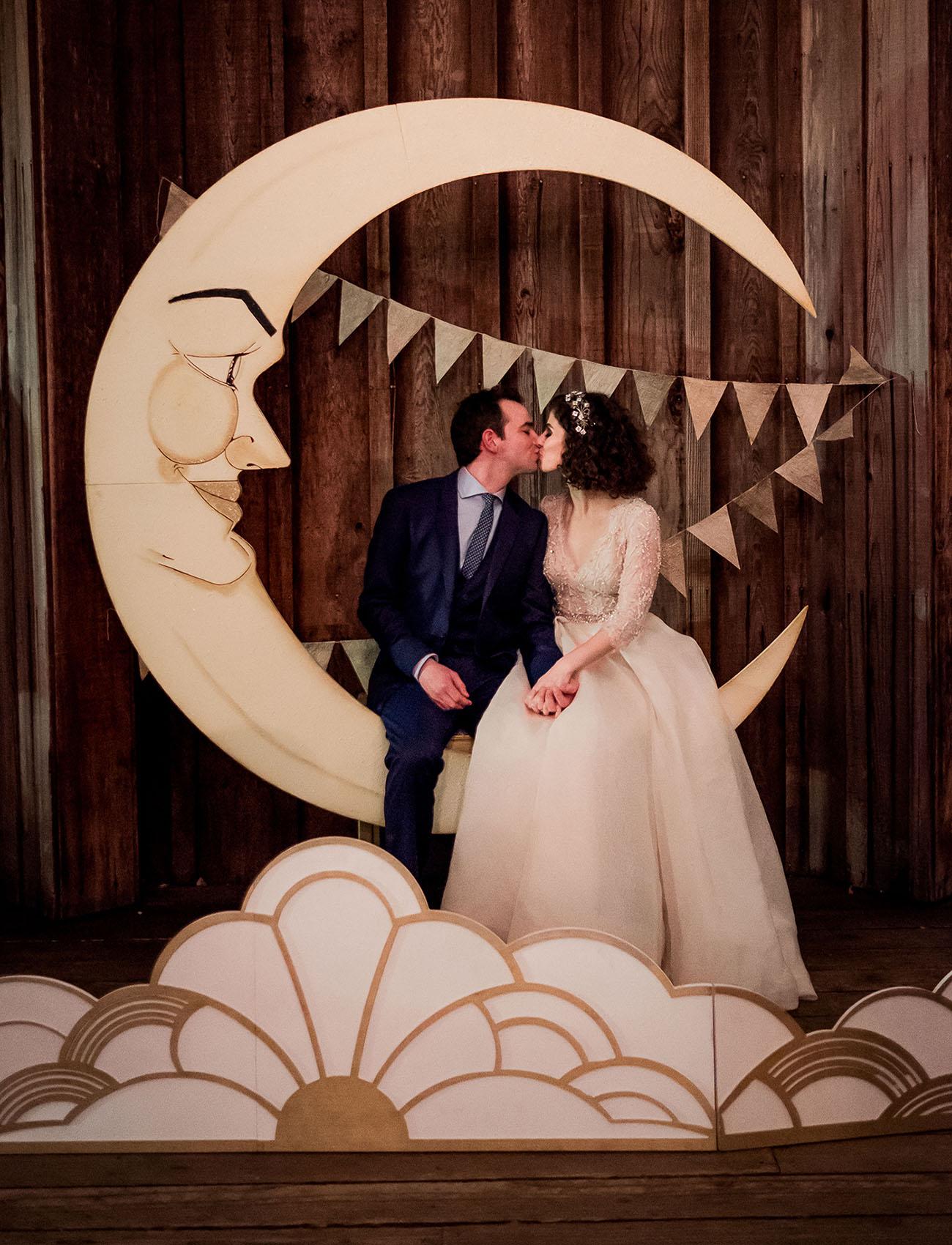 Romantic Woodland Wedding Among the