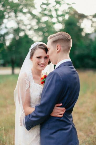 Warm New England Wedding Moon