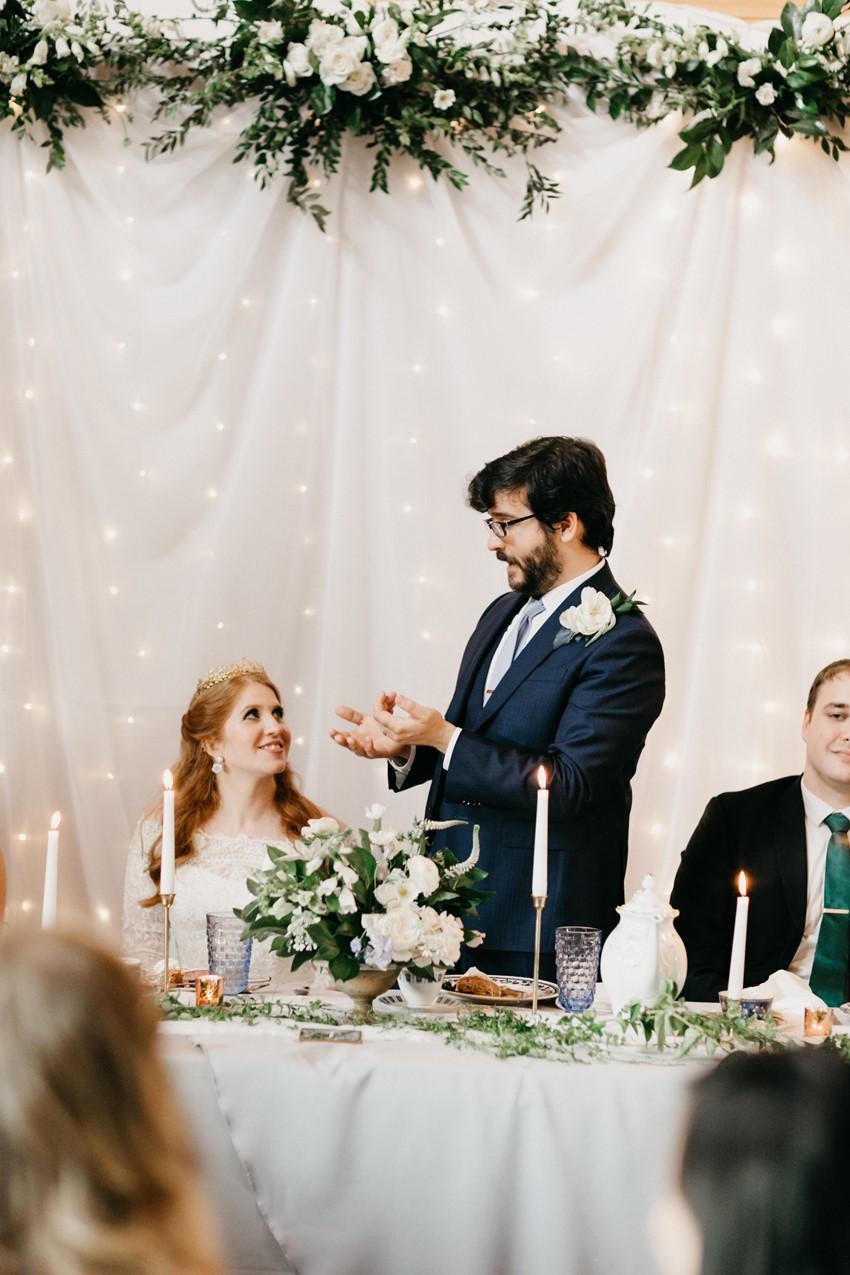 Elegant Rustic Wedding with Moon