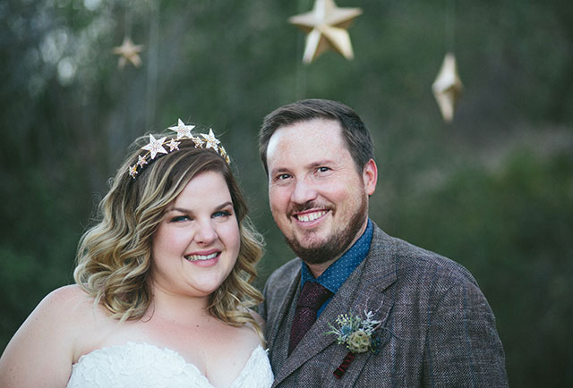 Celestial Retro Ranch Wedding