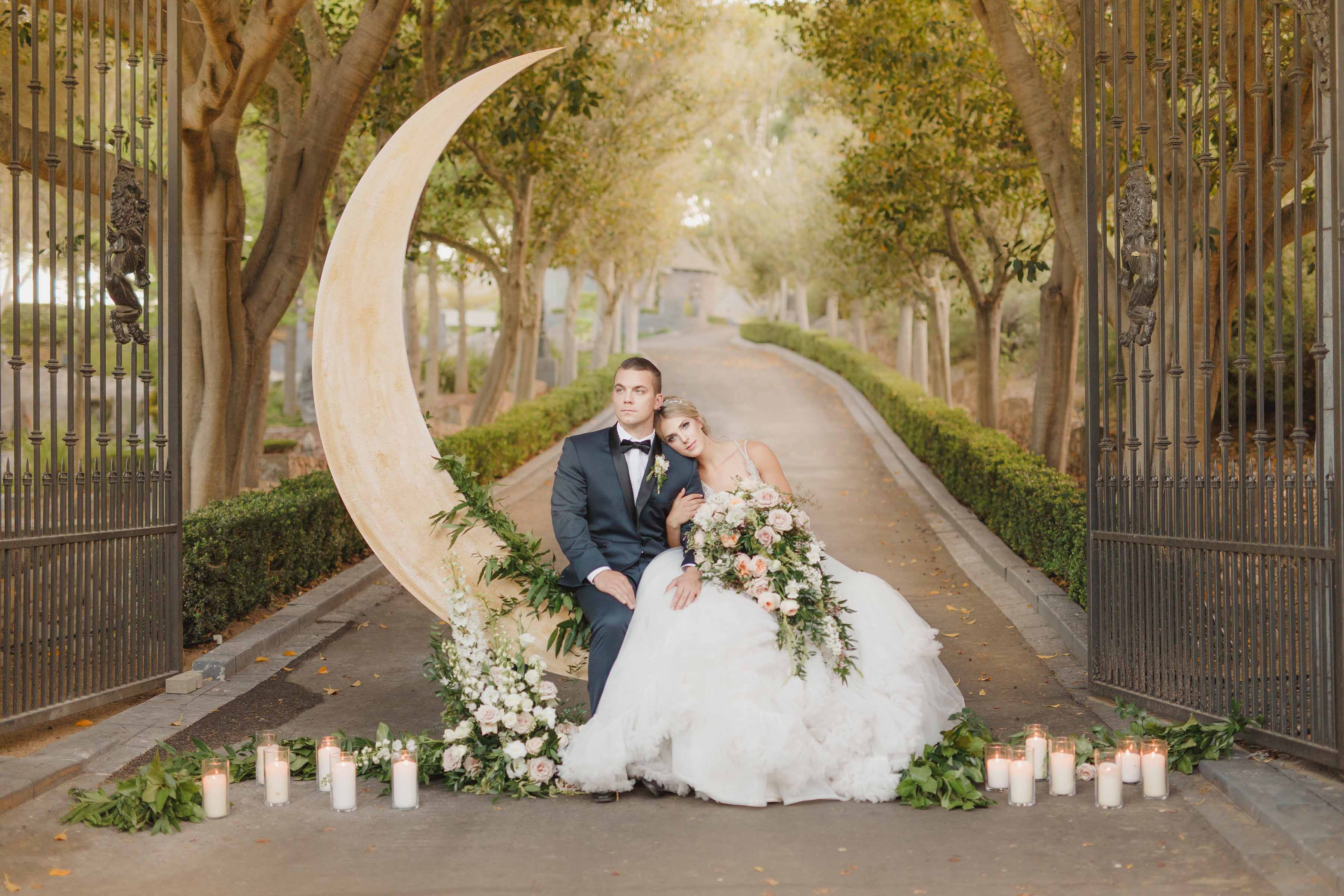 Majestic Moon Wedding Inspiration