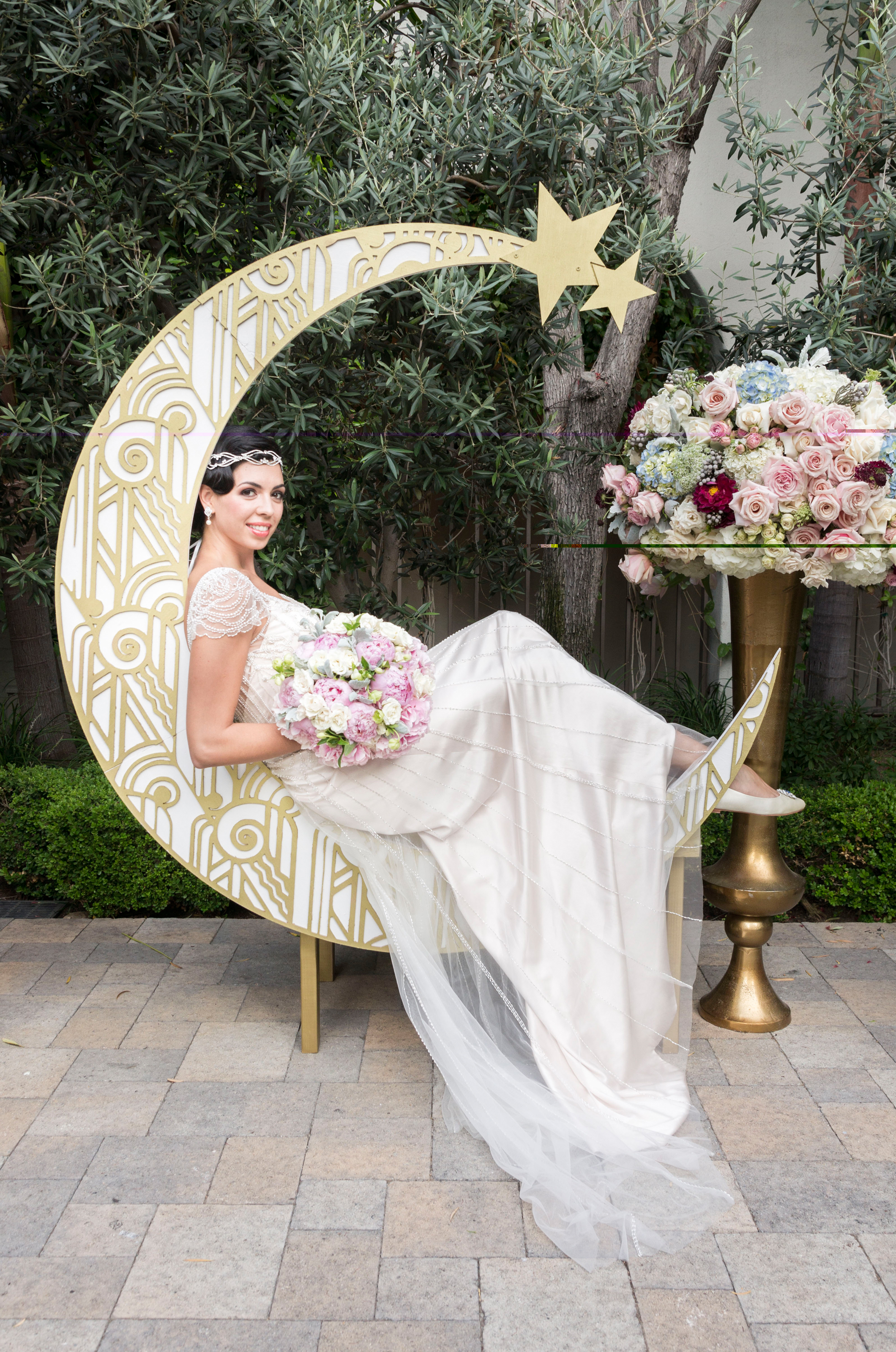 Luxe Art Deco Inspired Gatsby Moon S