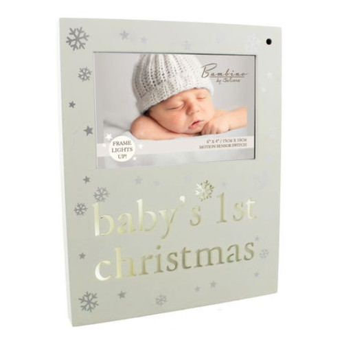 Bambino Baby\'s 1st Christmas Light Up Photo Frame | Home|Long Sutton ...