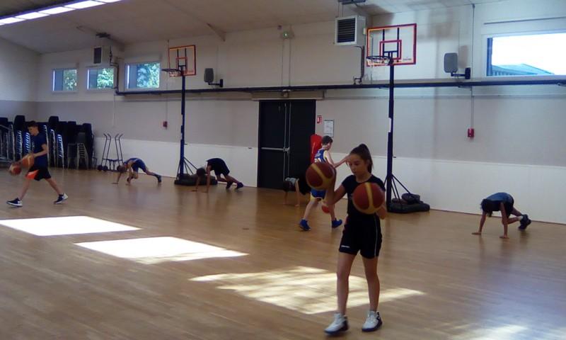 photo classe basket lundi