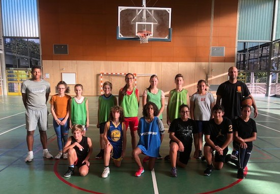 Isle Ponsard classe basket