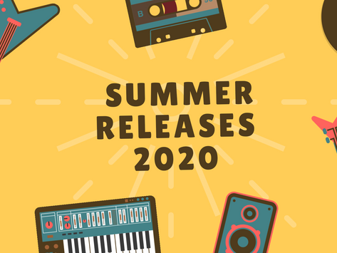 Summer 2020 Music Releases