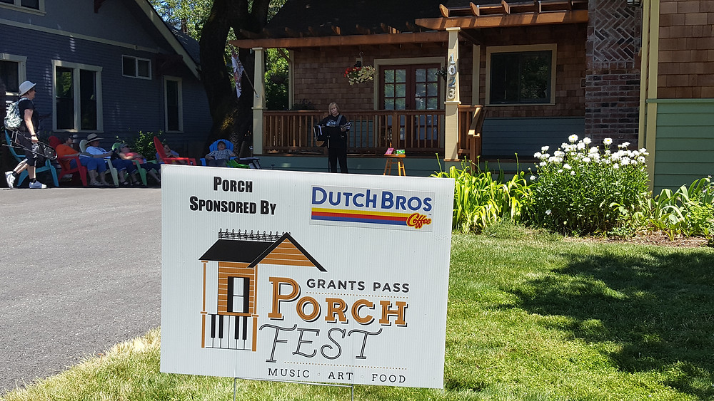 Dutch Bros. was one of the event sponsors and provided free drinks for attendees.