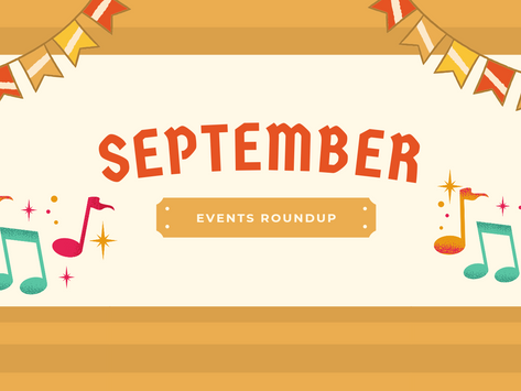 September 2021 Events Roundup