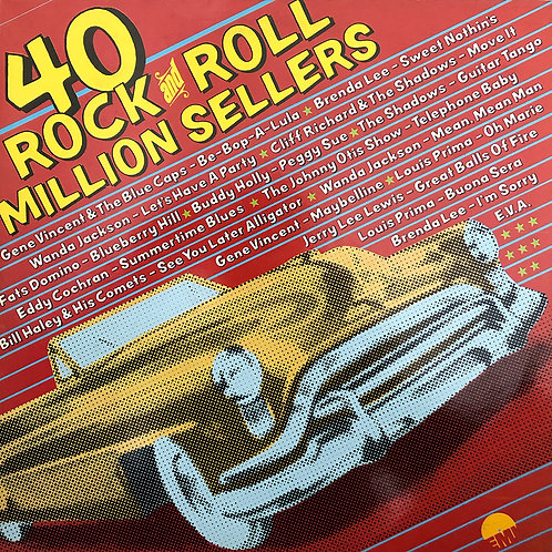 Various ‎– 40 Rock And Roll Million Sellers