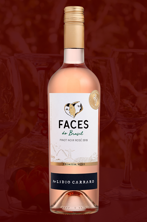 Lidio Carraro Faces Corte Rose Pinot Noir 750ml