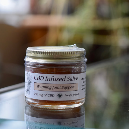 Warming Joint Support | 500 mg CBD