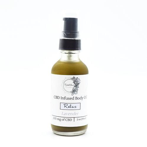 Relax Body Oil | 200 mg CBD