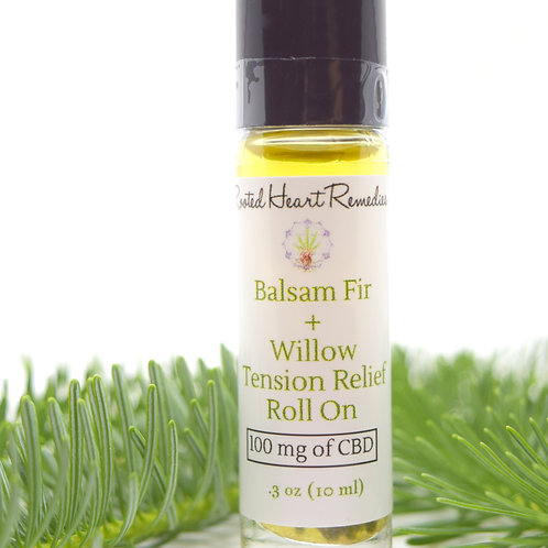 Balsam Fir & Willow Tension Relief Roll On