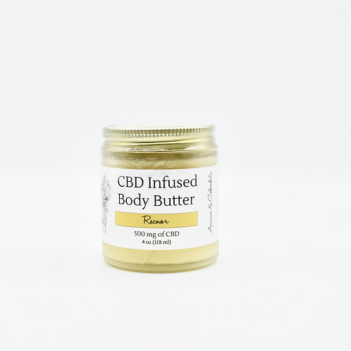 Recover Body Butter - 500 mg CBD