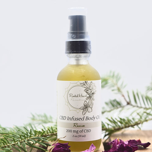 Revive Body Oil | 200 mg CBD