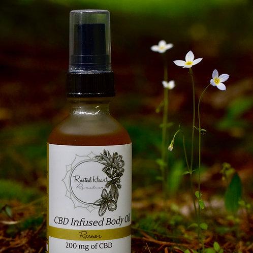 Recover Body Oil | 200 mg CBD