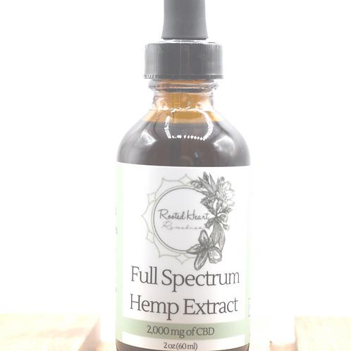 2000 mg Full Spectrum Hemp Extract