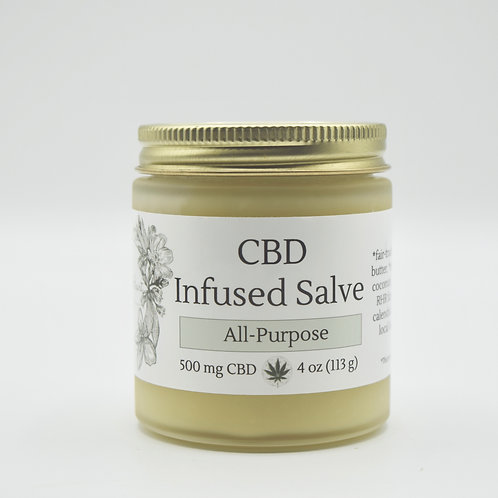 All-Purpose Salve | 500 mg CBD