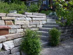 Trockenmauer / Treppe