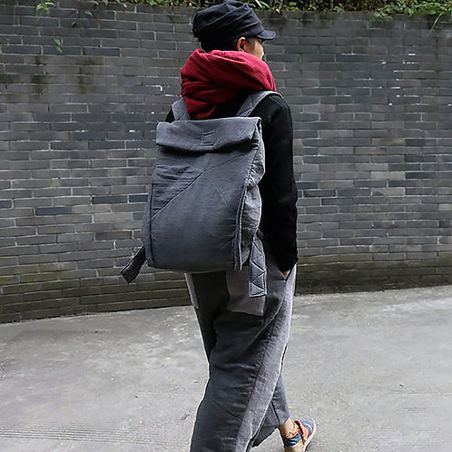 Urban Simple Square Backpack