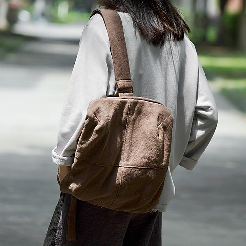 Urban Casual Single Strap Square Backpack