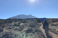Day 3: Shira 2 (3840m) to Lava Tower (4630m) to Baranco Camp (3950m)