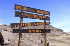 Day 5: SUMMIT ATTEMPT, Barafu Camp (4550m) to Uhuru Peak (5895m) to Mweka Camp (1980m)