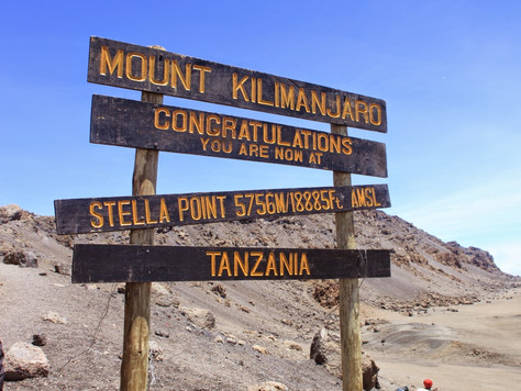 Day 5: SUMMIT ATTEMPT, Barafu Camp (4550m) to Uhuru Peak (5895m) to Mweka Camp (1980m)