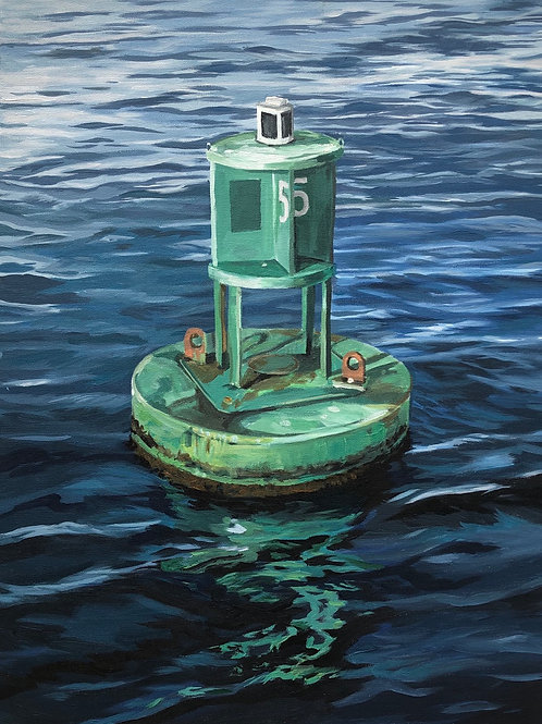 Green Buoy #5