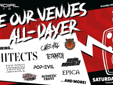 LOUDER NEWS: Primordial Radio Announce 'Save Our Venues' All-Dayer with The Music Venue Trust