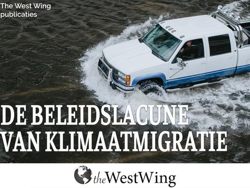 De beleidslacune van klimaatmigratie