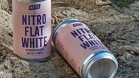 Nitro Flat White Coffee