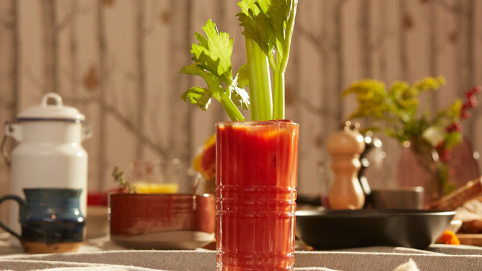 Flasche home made Bloody Mary 0,5L