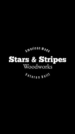 Stars & Stripes Woodworks Traditional Wh