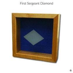 First Sergeant Diamond Engraving Option.