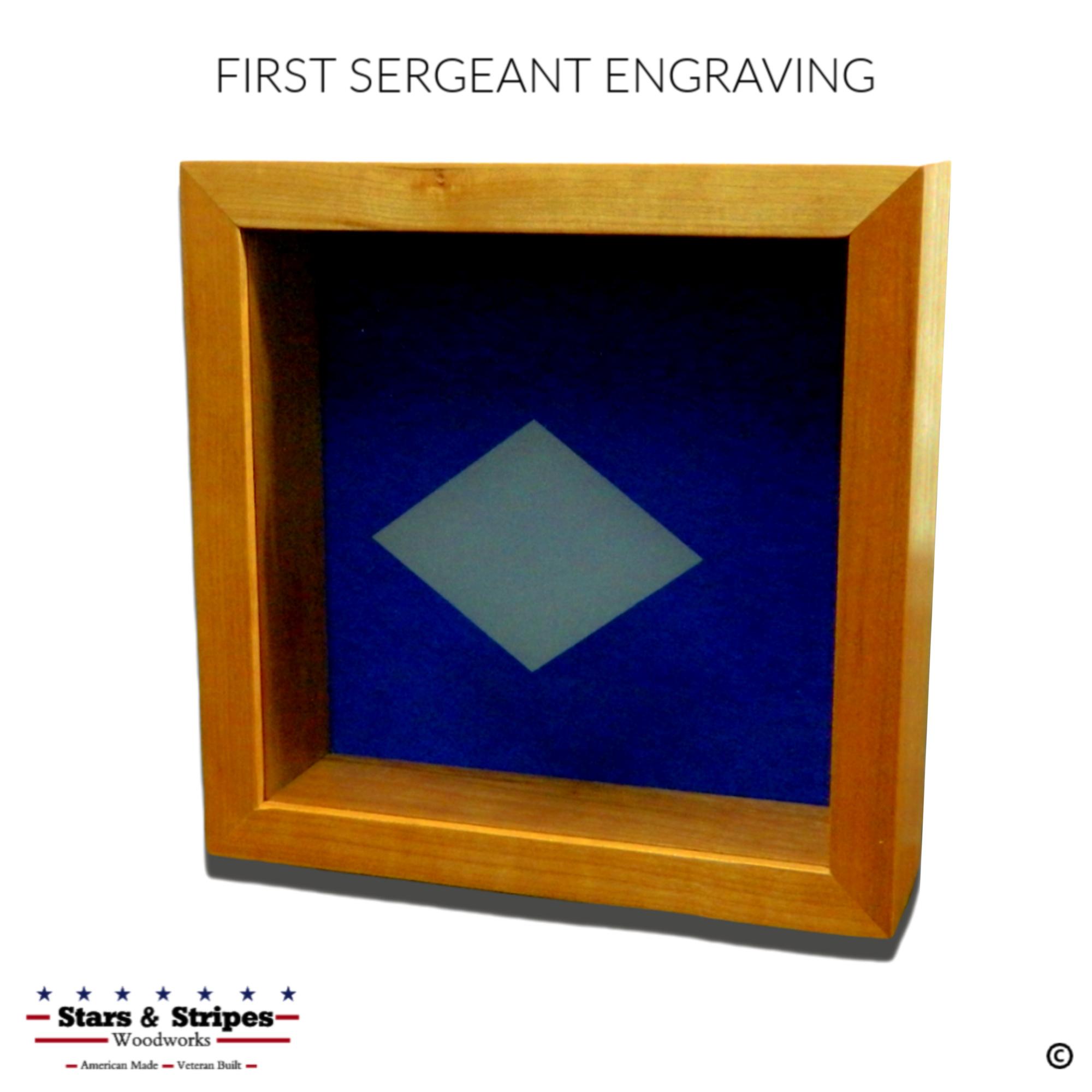 USAF First Sergeant Diamond