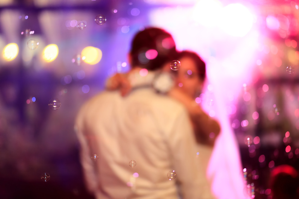 image of a couple slow dancing