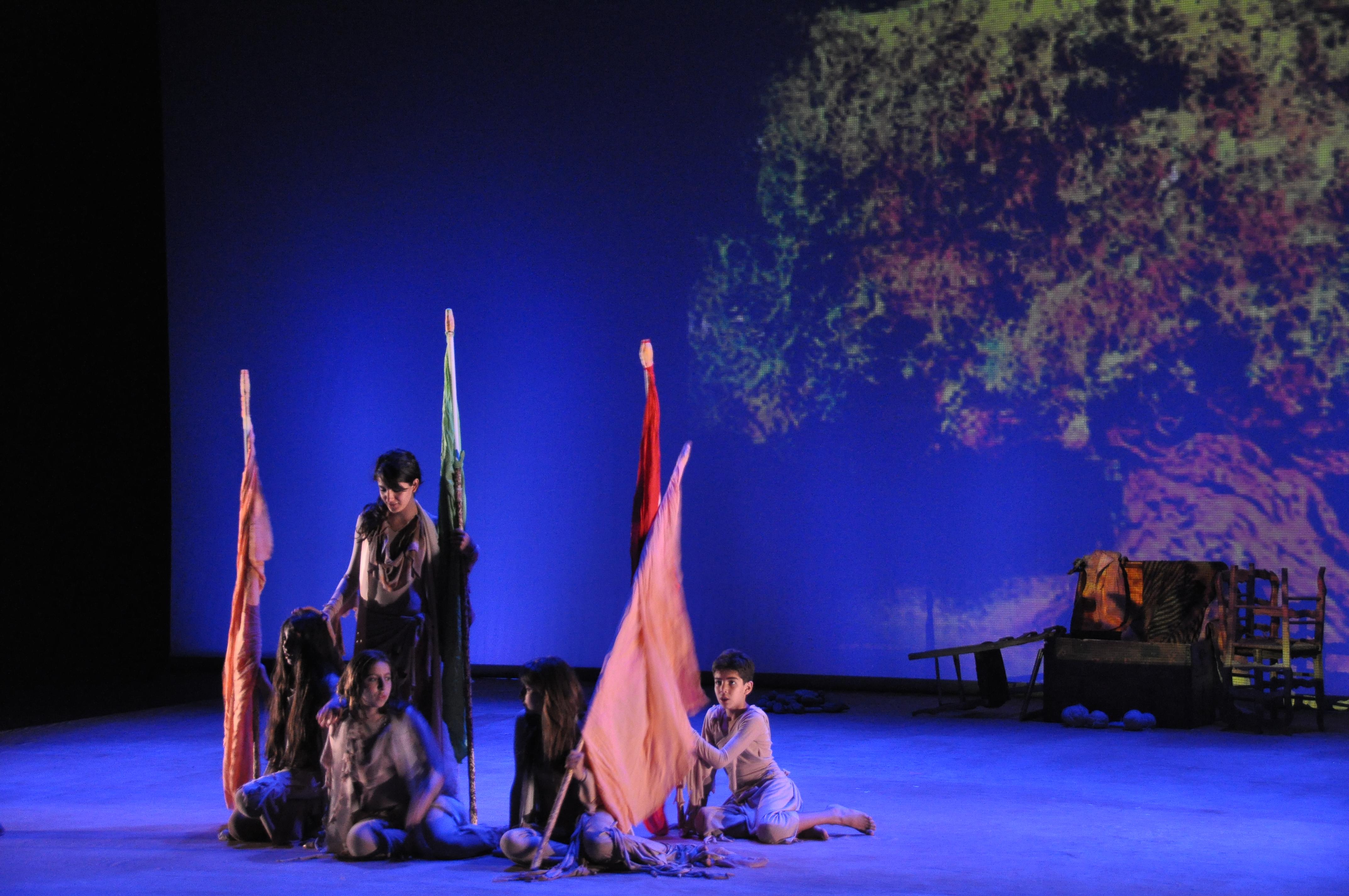 Ulysse à l'ombre de l'olivier ©Stellios