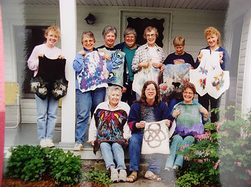 Guild members felted vests.JPG