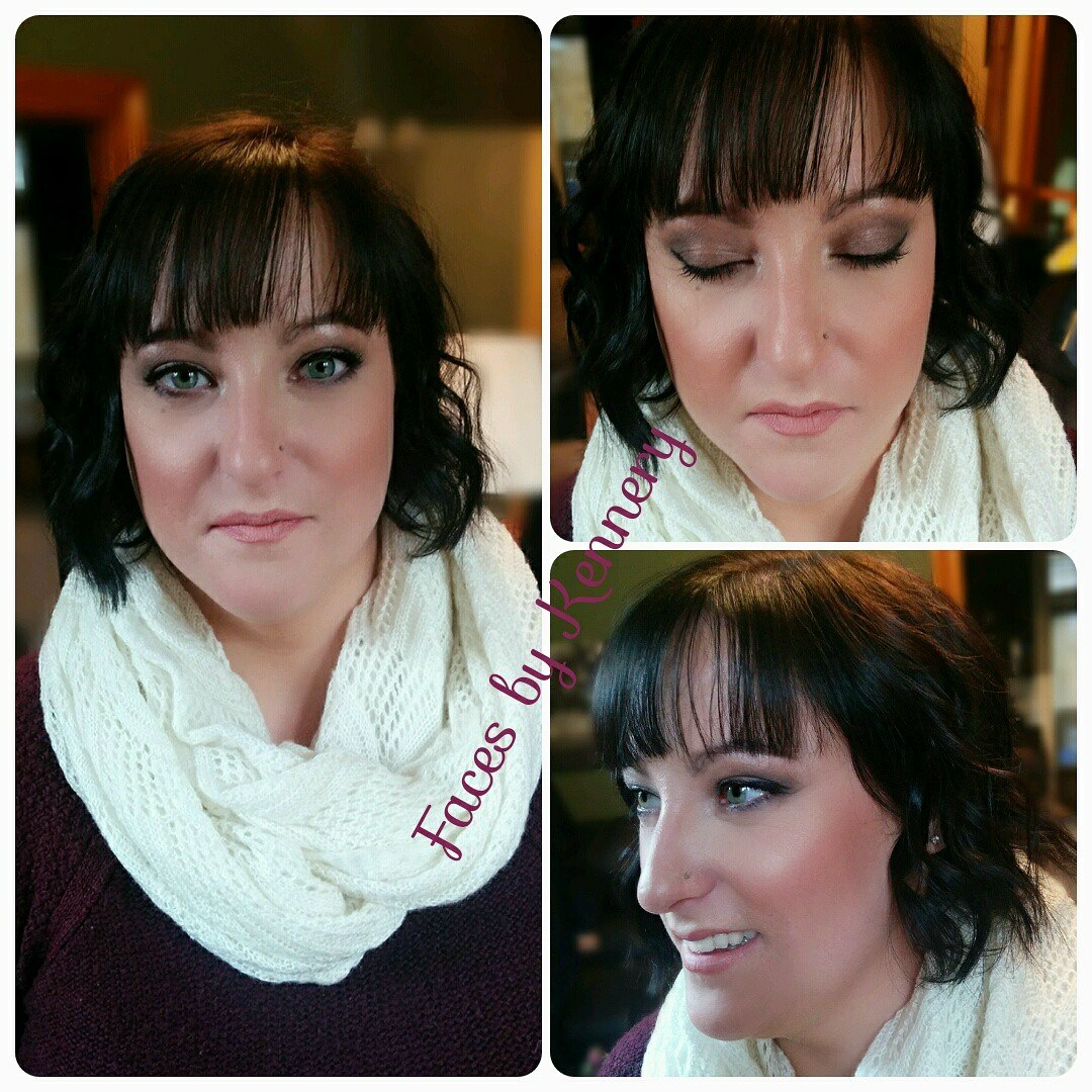 bridal trial makeup woodstock